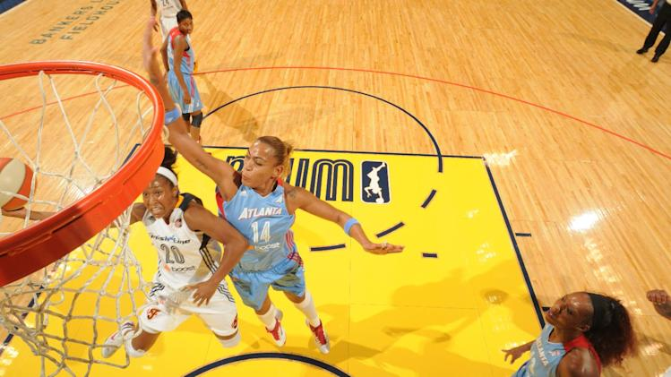Catchings scores 21 to lead Fever over Dream 80-66