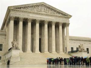 File photo of exterior of the US Supreme Court in Washington