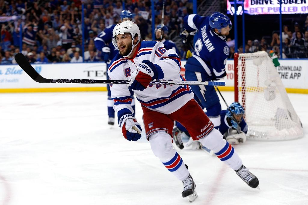 Playoff hero Brassard shines as Rangers force game seven