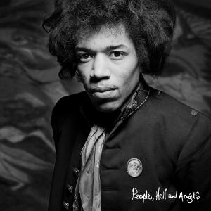 """This CD cover image released by Legacy shows """"People, Hell and Angels,"""" by Jimi Hendrix. The album is the last of Hendrix's unreleased studio material, ending a four-decade run of posthumous releases by an artist whose legacy remains as vital and vibrant now as it was at the time of his death. (AP Photo/Legacy)"""