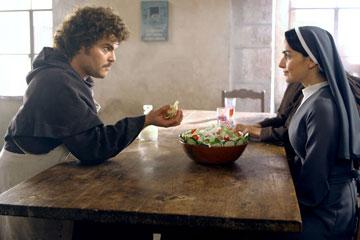 Jack Black and Ana de la Reguera in Paramount Pictures' Nacho Libre