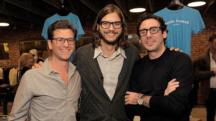 Ashton Kutcher Warby Parker Launch