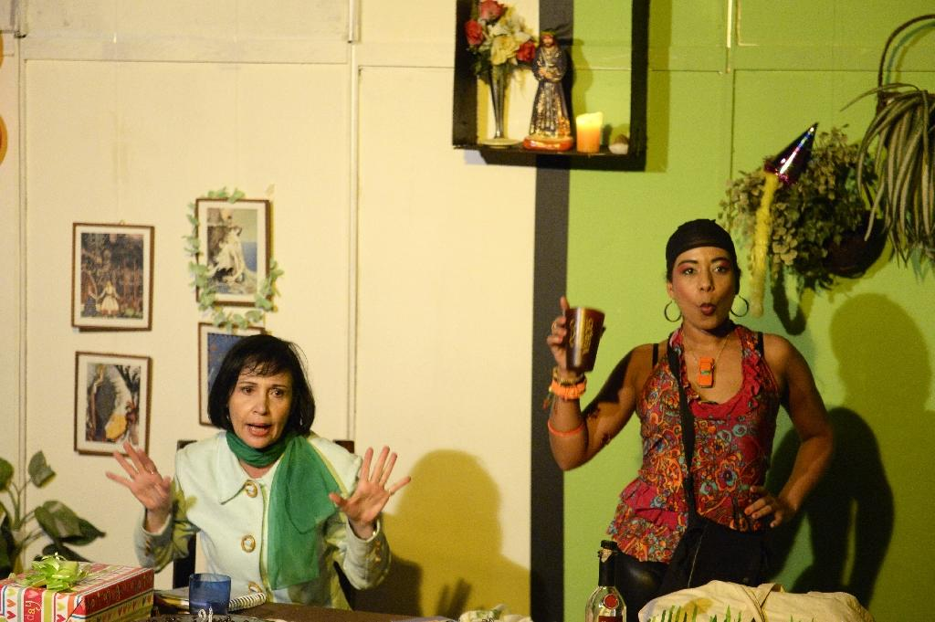 Venezuelan theater chronicles absurdity of life in crisis