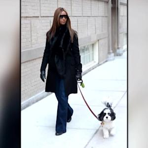 Iman Seen Out in New York City For The First Time Since David Bowie's Death