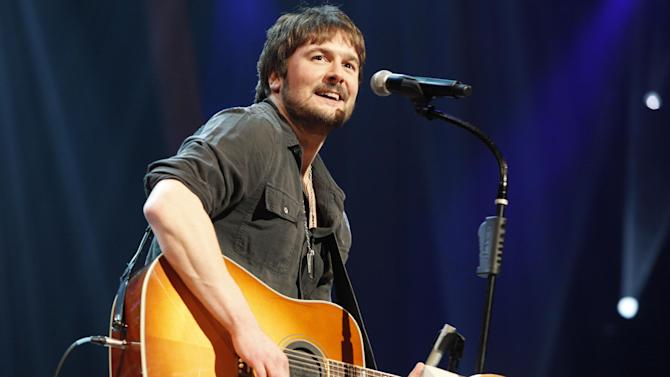 FILE - In this March 18, 2011 file photo, country singer Eric Church performs at the Grand Ole Opry in Nashville, Tenn. Luke Bryan leads the 2012 American Country Awards nominees with seven nominations; Lady Antebellum and Zac Brown Band each earned six nods; and Eric Church and Taylor Swift garnered five nominations.  The American Country Awards will air live from Mandalay Bay in Las Vegas Monday, Dec. 10, 2012 (8:00-10:00 PM ET live/PT tape-delayed) on FOX. (AP Photo/Ed Rode, File)