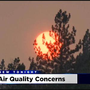 King Fire: Shift In Weather Pattern Could Send Smoke Drifting Into Valley This Weekend