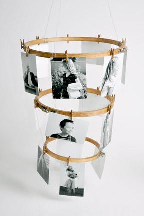Embroidery Hoop Photo Holder