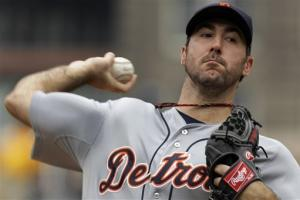 Verlander has complete game, Tigers beat Pirates