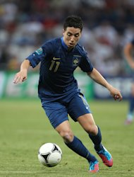 Samir Nasri has told of his regret about his behaviour at Euro 2012