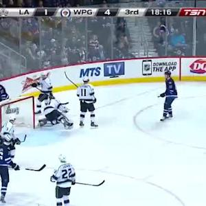 Martin Jones Save on Adam Lowry (01:42/3rd)