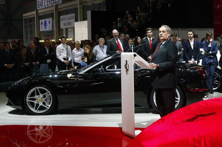 Ferrari CEO will not leave post before IPO: Marchionne