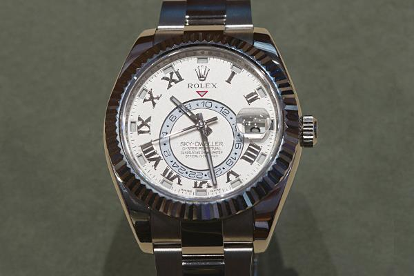 Rolex: Sky-Dweller Price: Up to $50,000