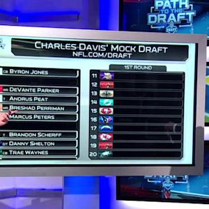 Charles Davis' Mock Draft: Picks 11-20
