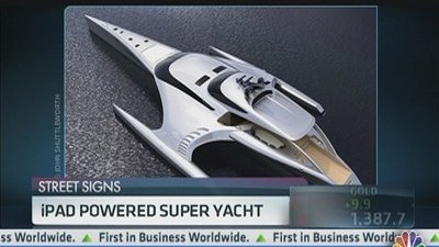 iPad-Powered Yacht