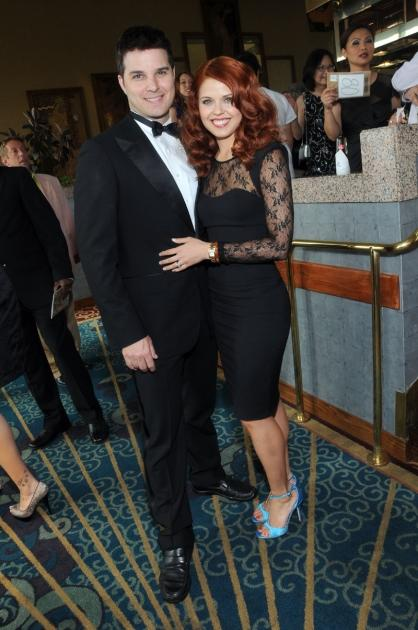 Jonathan Roberts and Anna Trebunskaya attend the 3rd Annual Kristi Yamaguchi's Dancing the Night Away Benefit at Hilton Union Square, San Francisco, on June 18, 2011 -- Getty Images
