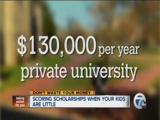 Money for college for young children