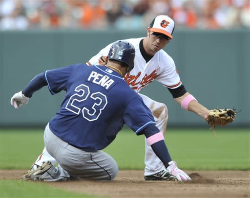 Johnson, Zobrist homer as Rays beat Orioles 9-8
