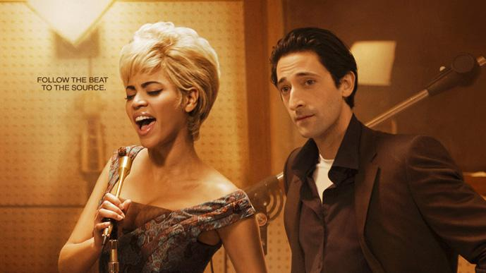 Beyonce Knowles Adrien Brody Jeffrey Wright Cadillac Records Production Stills Tristar Pictures 2008