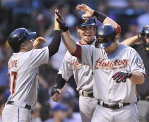 Wallace, Martinez hit 3-run homers for Astros