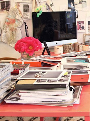 Office of J. Crew's Jenna Lyons.