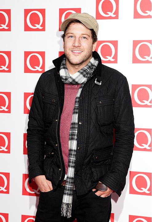 Matt Cardle looked super-casual in his trademark hat. He also looked very pleased with himself - but we would too if our album was number 2 in the charts.