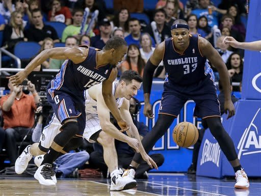 Walker, Henderson lead Bobcats past Magic, 105-92