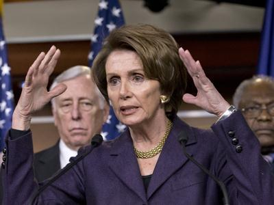 Pelosi: 'GOP Walks When Budget Deal Seems Close'