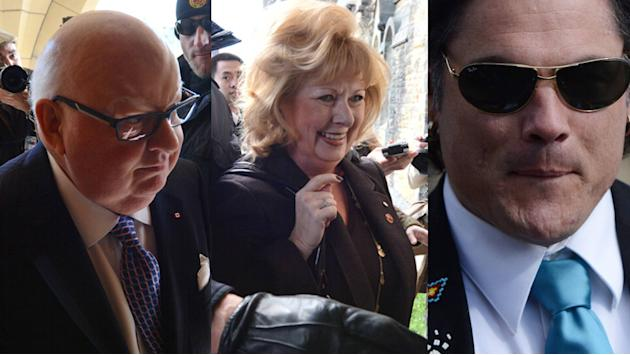 Some senators against motion to suspend Duffy, Wallin & Brazeau