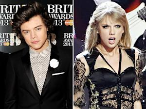 "Harry Styles Says Ex Taylor Swift's Sexy Brit Awards Performance Was ""Great"""