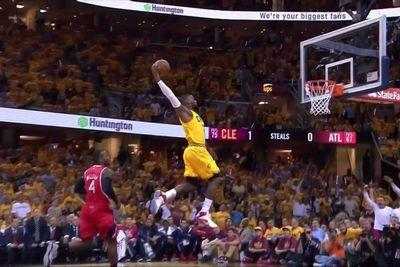 This LeBron James dunk should be framed and hung up all over Cleveland