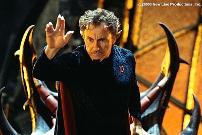 Harvey Keitel as Nicky's dad in New Line's Little Nicky