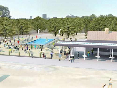 Coming Attractions: Local Visionary Planning Cafe and Surf Park For Montrose Beach