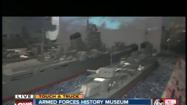 Armed Forces History Museum - Inside Look