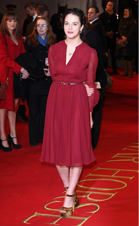 War Horse 2012 UK Premiere Jessica Brown Findlay