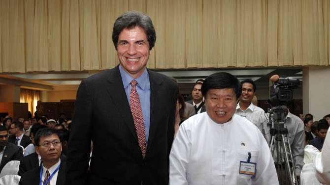 US caught in awkward embrace of Myanmar 'crony'