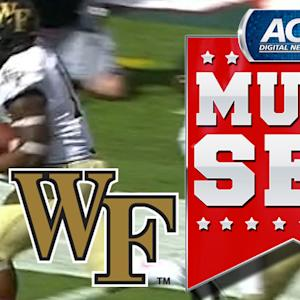 Dominique Gibson Gives Wake The Lead With 44 Yard Touchdown | ACC Must See Moment