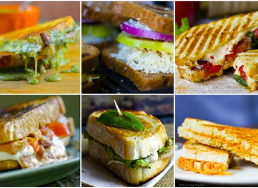 Lunch or Dinner: Grilled Cheese Sandwiches