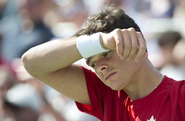 Milos Raonic (The Canadian Press)