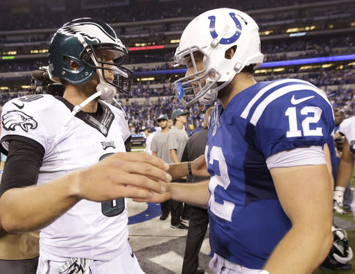 Colts' Luck looking to make amends after mistake