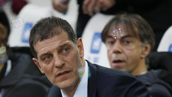 West Ham manager Slaven Bilic before the match