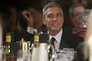 File picture shows actor George Clooney at the White House Correspondents Association Dinner in Washington, DC, April 28. President Barack Obama jetted into Hollywood for a Clooney-hosted fundraiser Thursday tipped to make a record-breaking $15 million, and add a touch of stardust to his re-election campaign
