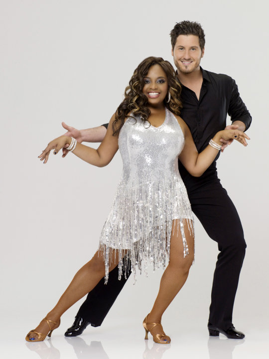 "Sherri Shepherd teams with professional dancer Val Chmerkovskiy on Season 14 of ""Dancing With the Stars."" Dancing With the Stars"