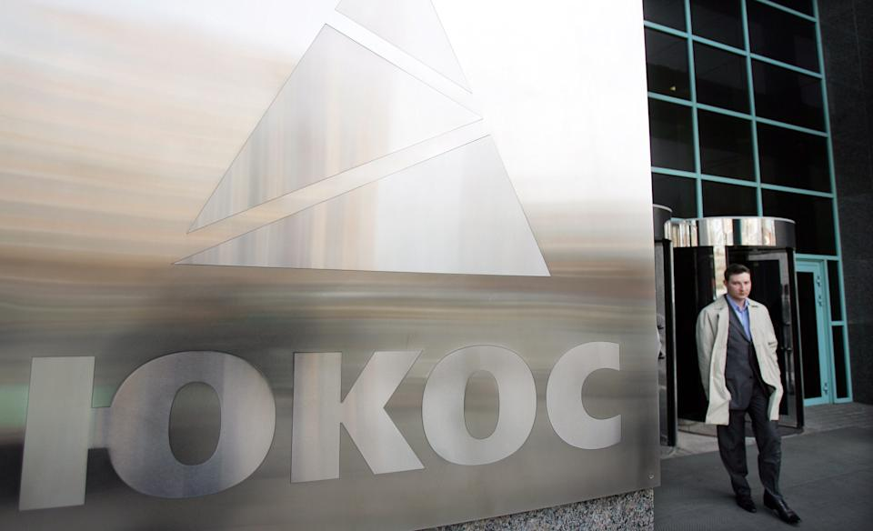 Russia says will use 'all options' against Yukos ruling