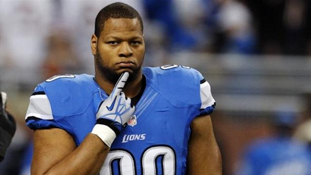 Detroit Lions defensive tackle Ndamukong Suh (Reuters)