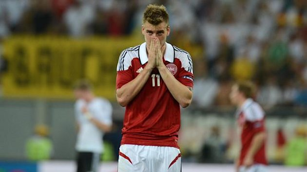 FOOTBALL 2012 Denmark - Bendtner