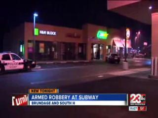 Subway Robbed