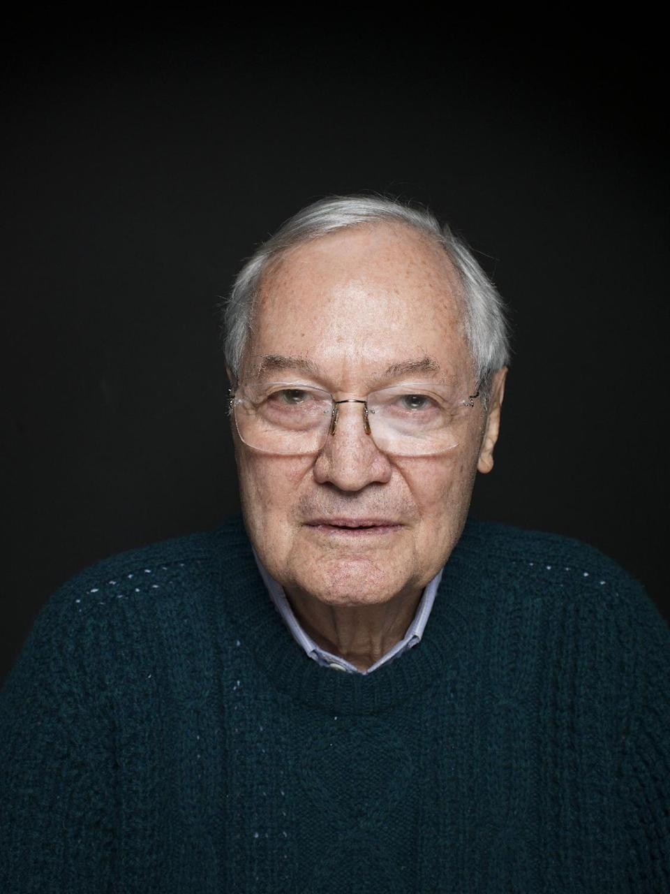 "Producer Roger Corman from the film ""Virtually Heroes"" poses for a portrait during the 2013 Sundance Film Festival on Sunday, Jan. 20, 2013 in Park City, Utah. (Photo by Victoria Will/Invision/AP Images)"