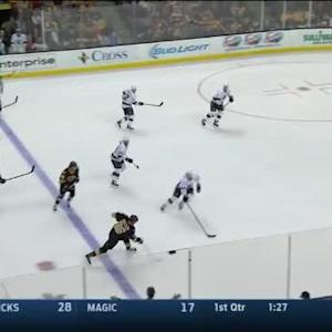 Jonathan Quick Save on Kevan Miller (14:49/1st)