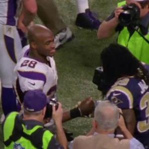 Minnesota Vikings reaction to running back Adrian Peterson suspension