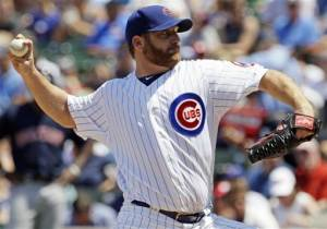 Dempster dominates again, Cubs beat Red Sox 3-0